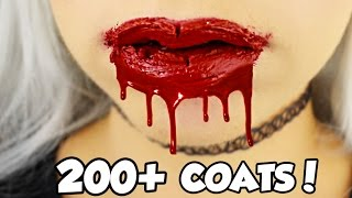 200+ coats! HOW MANY COATS ARE IN A KYLIE JENNER LIP KIT?! EP2 LIQUID LIPSTICK