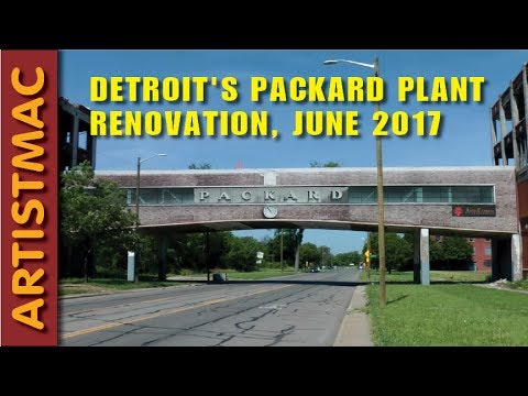 Detroit's Old Packard Plant is Being Rehabbed