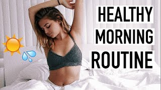My Healthy & Productive Summer Morning Routine 2017