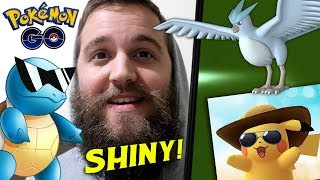 See It Here First! (Shiny Articuno + Squirtle Community Day) - Pokemon Go Live