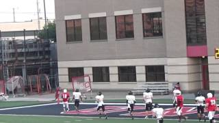Tyler Wallace 9th Grade Football 2015 Union Redskins