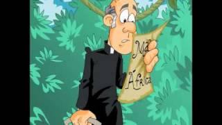 Humortadela - Piada Animada - Um Padre na África