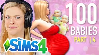 Single Girl Tries The 100-Baby Challenge In The Sims 4   Part 4