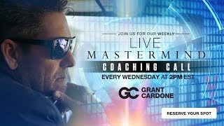 3 Strategies to Finish the Month Strong - Cardone Mastermind Event Live