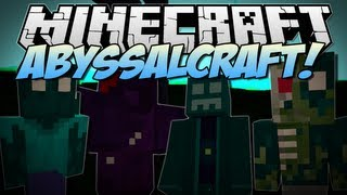 Minecraft | ABYSSALCRAFT! (Undead Dimension, Mobs & Bosses!) | Mod Showcase [1.6.2]