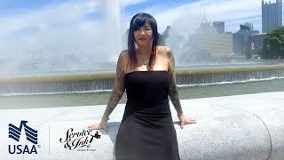 Service & Ink: Sarah Miller Tattoos Christine Harp - Ep. 10 | USAA