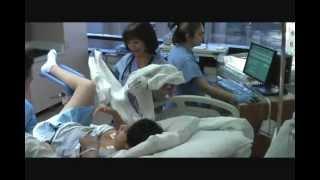 Trabajo de parto y nacimiento de Eva Brianna  (Natural, sin dolor, con epidural en hospital)