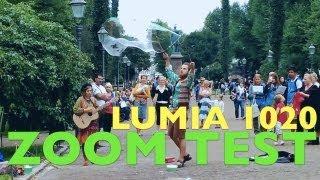 Nokia Lumia 1020 Video Zoom Test