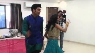SAB ki Holi 2016 Special Dance Reharsal with Sunny-Mugdha