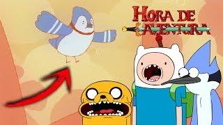 PARODIA ( REFERENCIA ) a Mordecai En HORA DE AVENTURA !!!