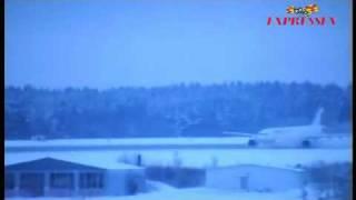 16 Jan آتش گرفتن موتور هواپیمای ایران ایر در شهر استکهلم