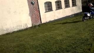 Motocross hygge i haven