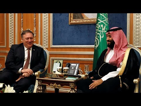 Xxx Mp4 U S Secretary Of State Meets Saudi Prince To Discuss Missing Journalist Jamal Khashoggi 3gp Sex