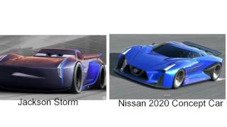 Cars 3 Characters In Real Life