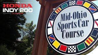 Friday at the 2018 Honda Indy 200 at Mid-Ohio