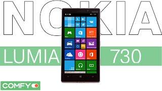 Nokia Lumia 730 Dual SIM - стильный смартфон на ОС Windows Phone - Видеодемонстрация от Comfy
