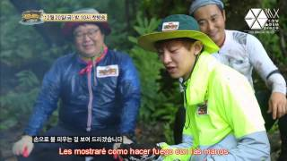 [SUB ESP] 131204 - EXO - Chanyeol - Teaser de Laws of Jungle