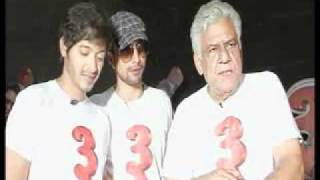 Shreyas - Deepak - Om Puri Speak About 'Teen Thay Bhai' - Bollywoodhungama.com