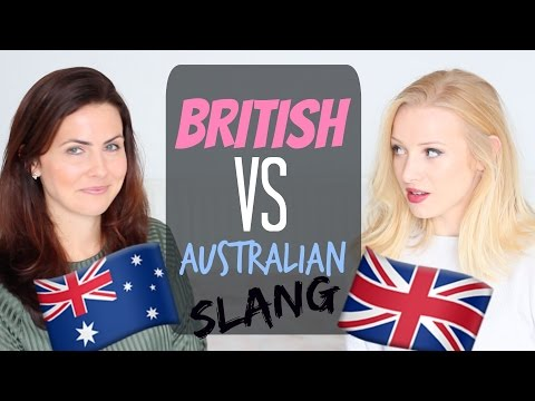 British Slang  vs Australian Slang | Colloquial English Words and Phrases