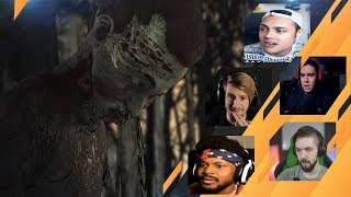 Gamers Reactions to Seeing Tenn Alive Or As A Zombie | The Walking Dead: [S4][E4] Take Us Back