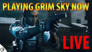 Playing Grim Sky NOW! - Clash & Maverick - 6News - Tom Clancy