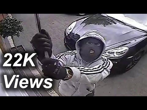 CCTV Footage | Surveillance Cameras Installation LA | Security Camera Caught Men Smash Home