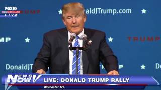 FNN: Donald Trump Completely Owns A Protester At Rally