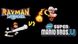 Rayman Legends VS. New Super Mario Bros. U