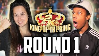 WWE 2K16 YouTuber King of The Ring Tournament - Round 1 - vs. LUGEY! #2KKOTR