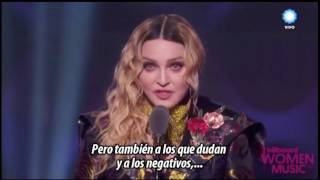 TV Pública Noticias - Emotivo discurso de Madonna contra el machismo
