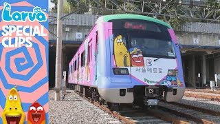 [Official] Larva Subway in KOREA - Special Videos by Animation LARVA