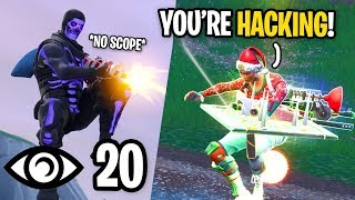 I No Scoped EVERYONE and They Thought I Was Hacking... (how did I do this?)