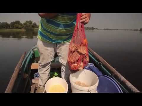 ловля леща с лодки весной видео