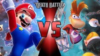 Mario vs Rayman? Who Would Win?