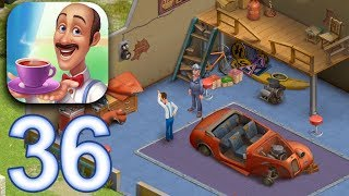HOMESCAPES Story Walkthrough Gameplay Part 36 - Day 26 Garage (iOS Android)