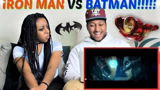 BATMAN vs. IRON MAN (Battle Of The Billionaires) | ARCADE MODE! By MightyRaccoon REACTION!!!