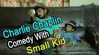 Charlie Chaplin Comedy With Small Kid || Hyderbadi Charlie Chaplin ||