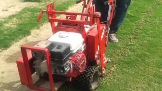 اعمال شتل العشب الطبيعي في الملاعب الطبيعية