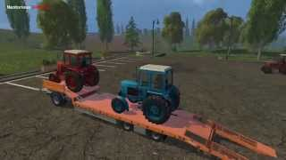 Farming Simulator 15 : MTZ 80 Belarus Pack Mod