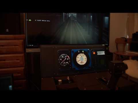 簡易型運転台BVEコントローラーを作ってみた~シーサイドライン1000系~操作・運転編