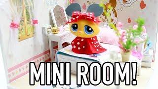 miniature micky & minnie mouse theme room!