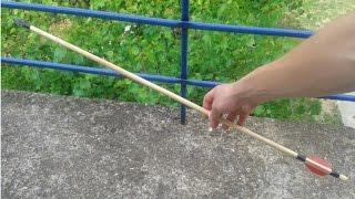 How To Make an Arrow | No Power Tools