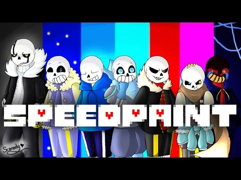 SpeedPaint! Alternative Universe Sans! (Undertale AU's)