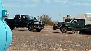 Drama in the desert!!! Carolyn and I harassed by LTVA hosts!!!