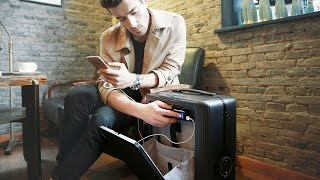 Robotic Suitcase, Smallest 360 Camera, Interactive Smartwatch, Best of kickstarter projects July #4
