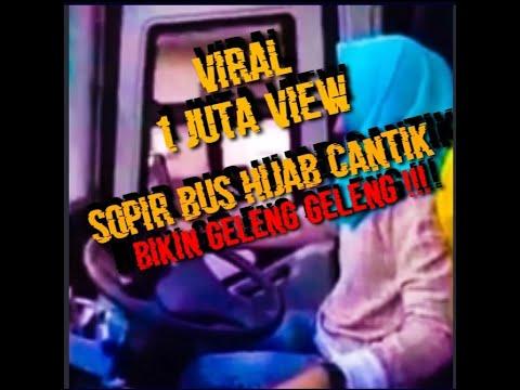 Telolet Driver Cantik Hijaber Jetbus SHD @GALERI BUS INDONESIA