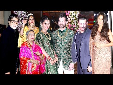 Xxx Mp4 Bollywood Celebs Neil Nitin Mukesh WEDDING Reception 2017 Salman Katrina Amitabh Rekha 3gp Sex