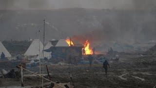 Oil Police RAID Standing Rock Camp. Update From Jordan Chariton
