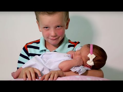 Six Brothers REACT To Meeting Their Baby Sister   What's Trending Now