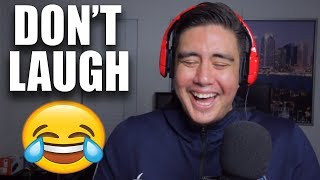 I COULDN'T STOP LAUGHING THESE WERE SO GOOD | Try To Make Me Laugh